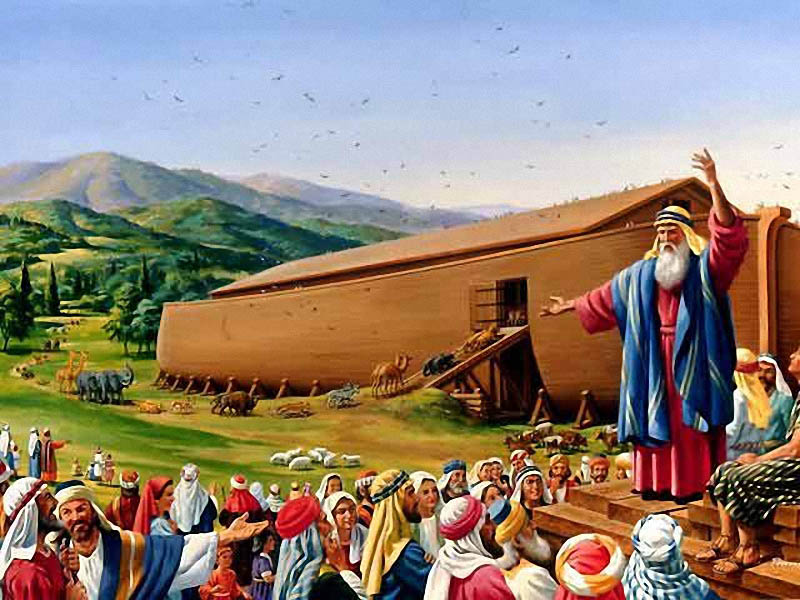О секретах дедушки Ноя
